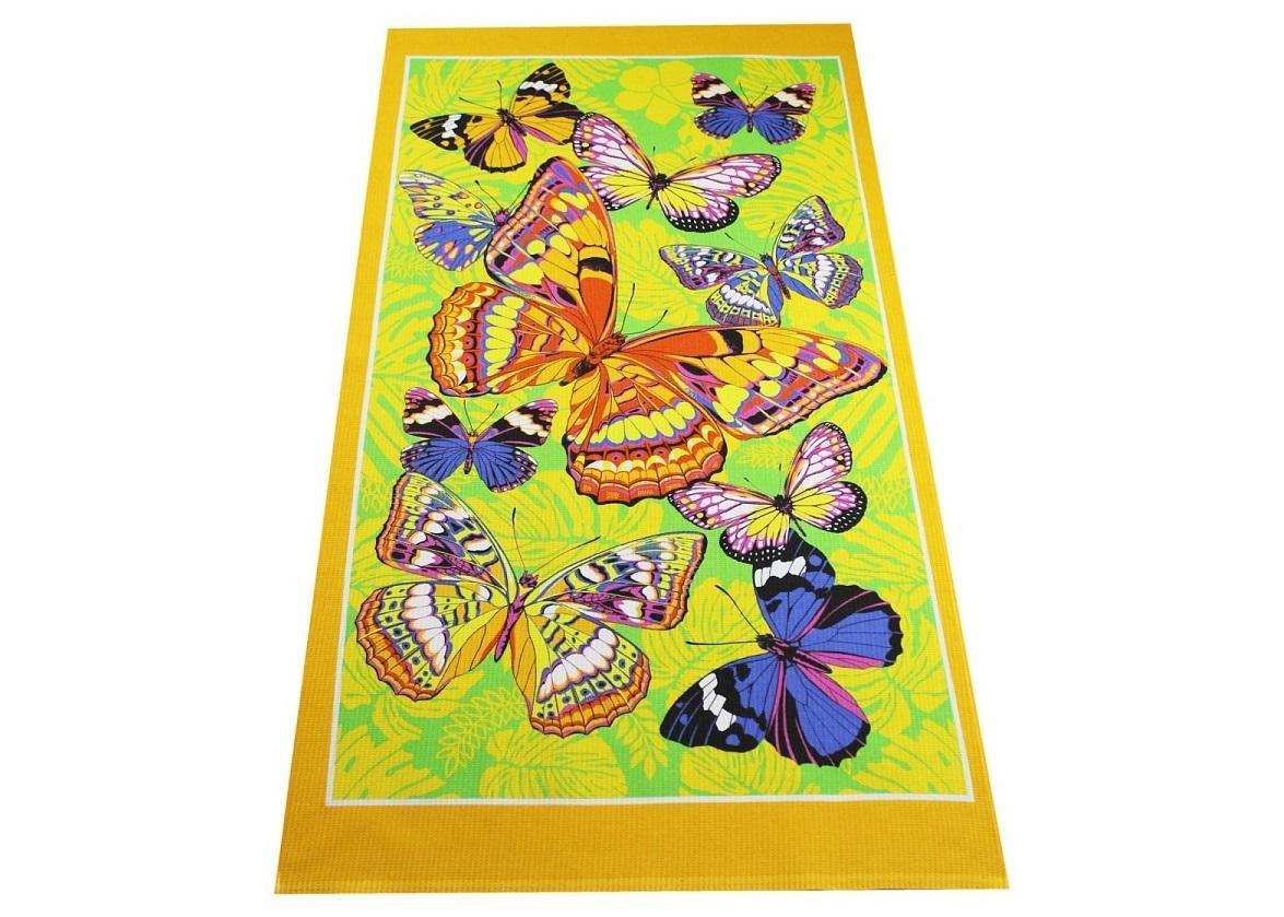 Бабочки (желтое)