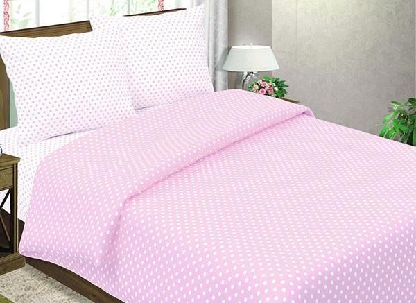 Горошек (розовый)