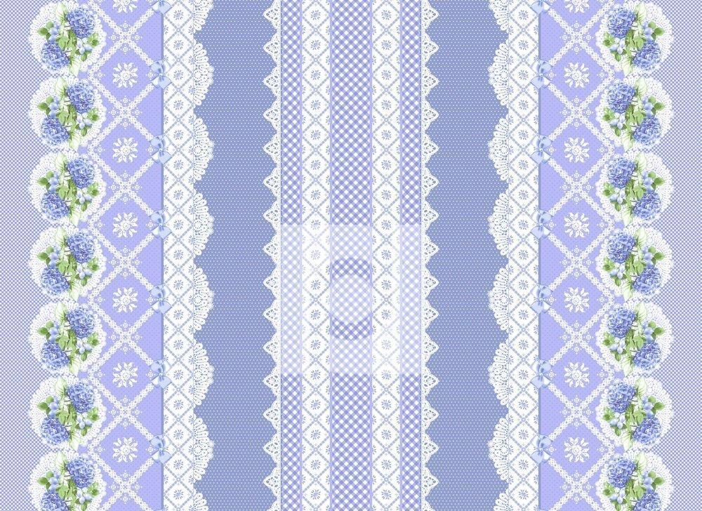 Гортензия (синие)