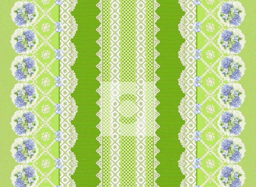 Гортензия (зеленые)
