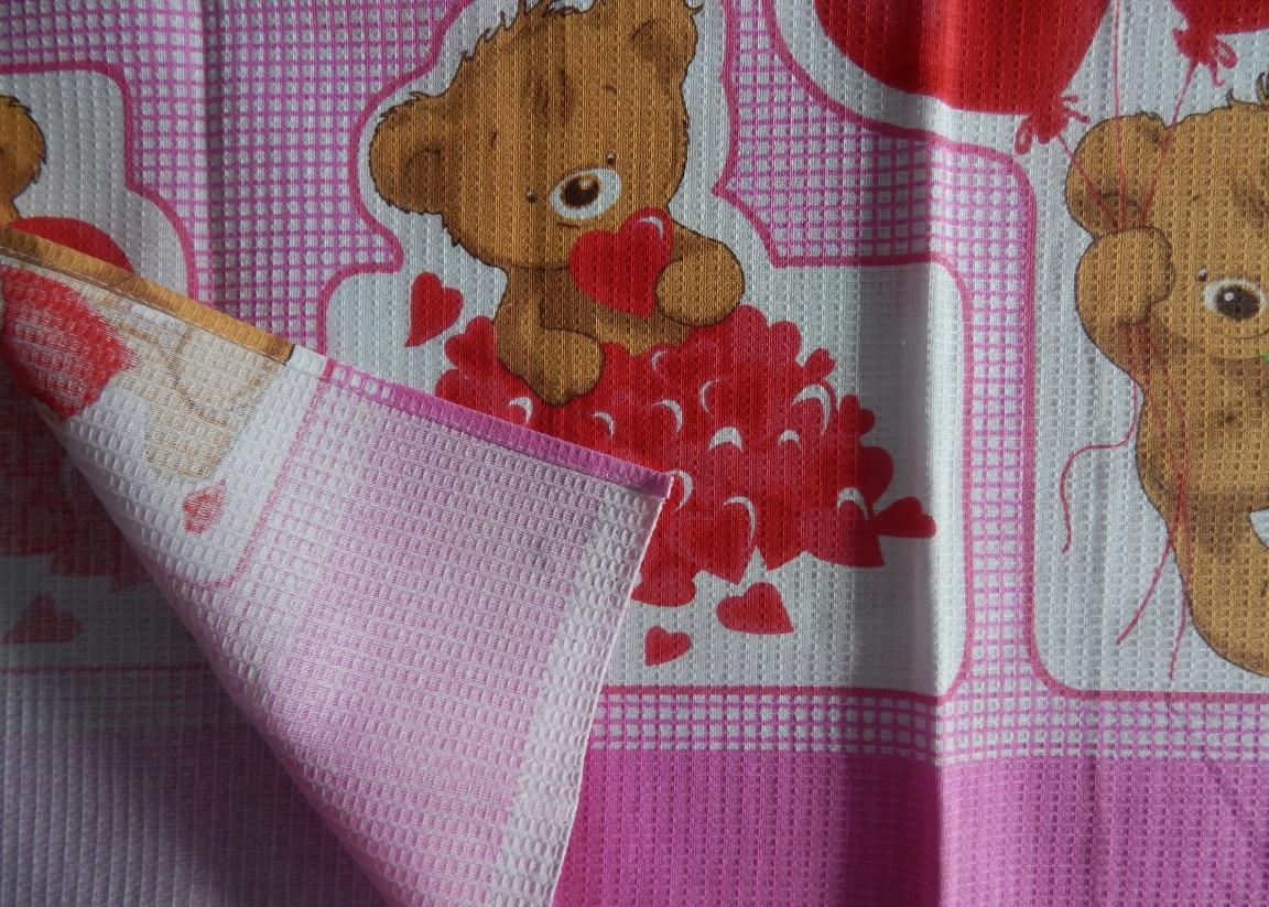 Плюшевый мишка (розовое)