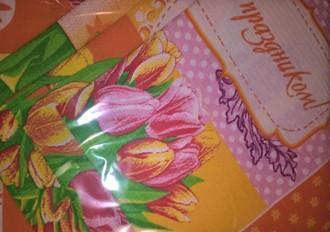 Тюльпаны (оранжевые)