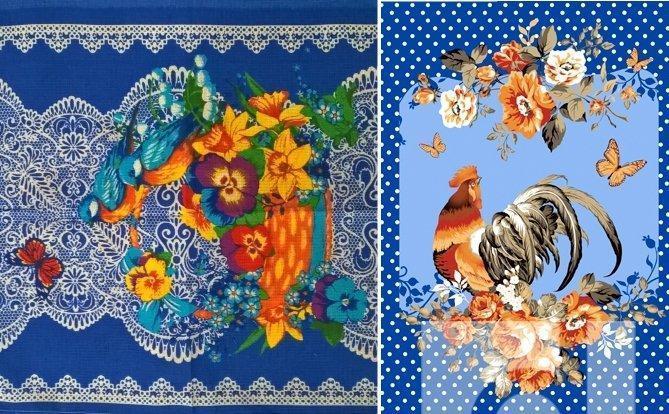 Корзинка с цветами компаньон год петуха